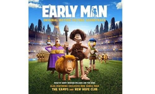 Harry Gregson-Williams And Tom Howe<br>Early Man (Original Motion Picture Soundtrack)<br>CD
